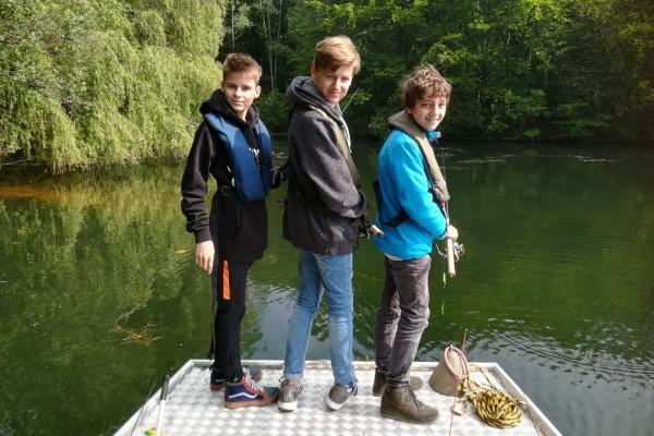 Jugend-Raubfischangeln Heider Bergsee 2019